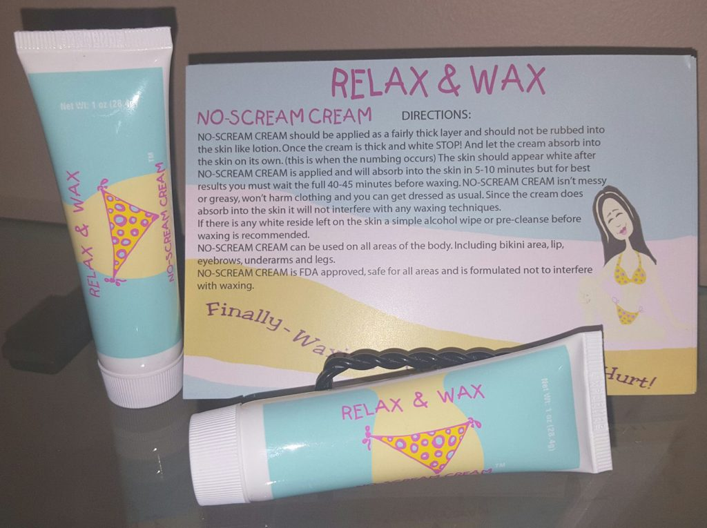 Just in time for Swim Suit season- Relax & Wax
